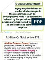 Resective Osseous Surgery Oral Surgery