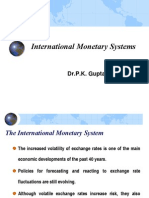 IFM4-International Monetary Systems