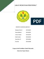Penegakan Hukum di Indonesia (Klmpk 5).doc