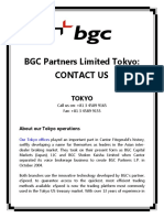 BGC Partners Limited Tokyo