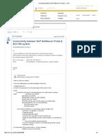 Connectivity Between SAP NetWeaver Portal &..