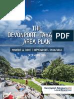 Devonport Takapuna Area Plan December 2014