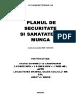 Plan SSM - SOCAR - Oradea Clujului