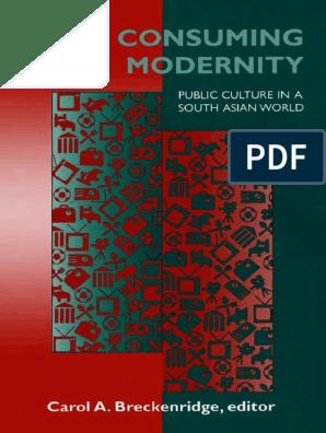 CABreckenridge Consuming Modernity Public Culture in a South