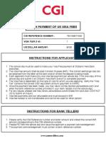 Axis Visa Print