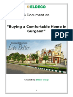 Buying a Comfortable Home in Gurgaon