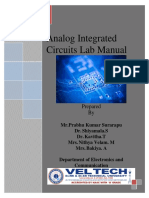 AnalogIntegratedCircuts LAB MANUAL by prabhu kumar surarapu