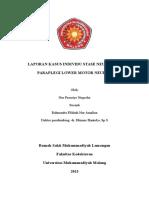 Lapsus Paraplegi