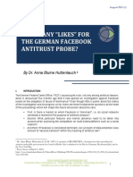 """How Many """"Likes"""" for the German Facebook Antitrust Probe"""
