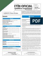 Boletín Oficial de la República Argentina, Número 33.445. 23 de agosto de 2016