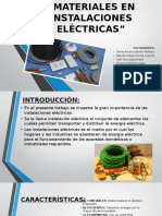 Power Materiales en Instalaciones Eléctricas