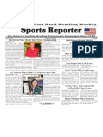 August 24 - 30, 2016  Sports Reporter
