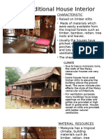 Malay Traditional House Interior
