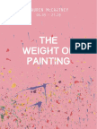 lauren mccartney the weight of painting catalogue 2014