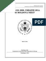 SENATE HEARING, 113TH CONGRESS - Georgia 2008, Ukraine 2014 – Is Moldova Next?