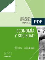 ECONOMIA Y SOCIEDAD - N 41 - JUNIO 2016 - PARAGUAY - PORTALGUARANI