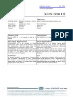 Sulfolicker LO