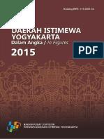 Daerah Istimewa Yogyakarta Dalam Angka 2015