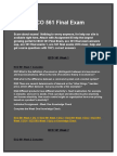 ECO 561 Final Exam Answer | Assignment E Help
