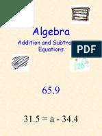 algebra in easy way to teach