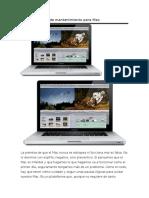 Guía y Consejos de Mantenimiento Para Mac