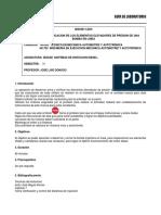 Desarmar y Verificacion de Los Elementos Elevadores de Bba en Linea