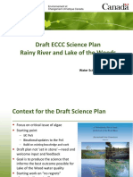Draft ECCC Science Plan LOW August 2016