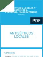Antisépticos Locales y