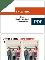 Presentation1 Stunting