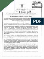 Decreto 1349 del 22 de Agosto de 2016
