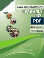 Anuario_2012 - Paraíba