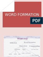 Word Formation - 2