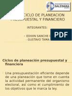 Ciclo de Planificacion Presup. y Financiero