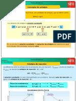 2 a 5 Entalpía de Reacción de Formación y Cálculos