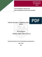 Tesis Centro Cultural PDF
