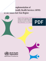 Accelerating implementation of Adolescent Friendly Health Services (AFHS) in the South-East Asia Region 2008.pdf