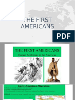 the first americans answers