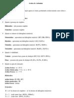 Química Geral Ácidos de Arrhenius
