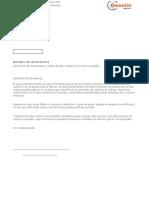 Formato Carta Falla