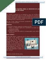 Calibracion de Equipos Para La Medicion de Las Propiedades de Los Lodos[1]