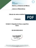 U2 Integrales de Linea y Superficie