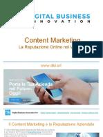 Content Marketing & Web Reputation