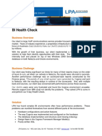 Case Study BI Health Check