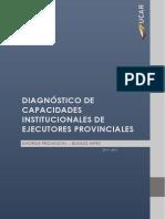 Diagnóstico de Capacidades Institucionales - Buenos Aires