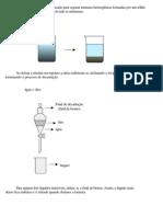 Química Geral Decantação