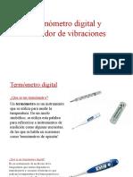 Termómetro digital y Medidor de vibraciones.pptx