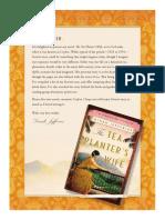 The Tea Planter's Wife Book Club Kit