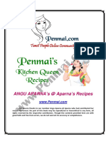 Angu Aparna Recipes PDF - Penmai's Kitchen Queen