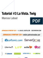 Tutorial 3 La Vista Twig