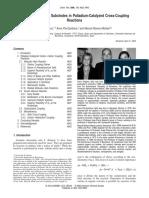 Diazonium Salts as Substrates in Palladium-Catalyzed Cross-Coupling